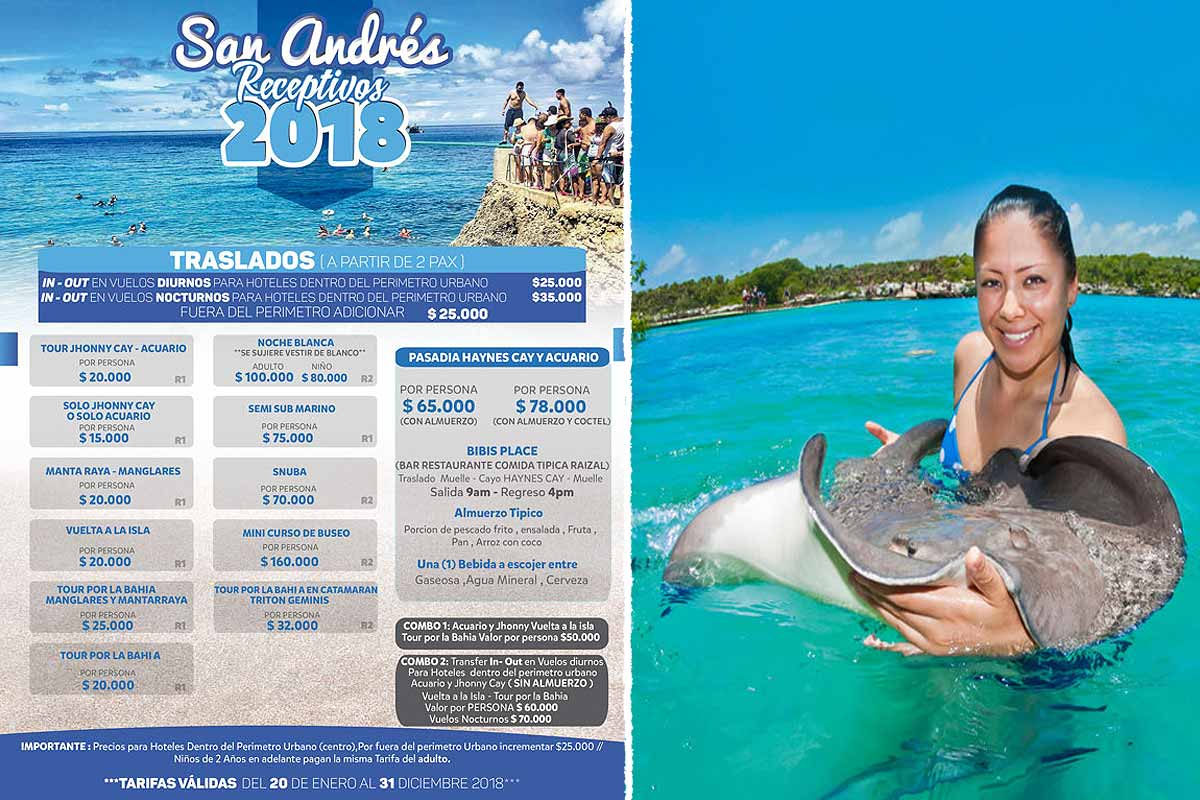 San Andres Tours
